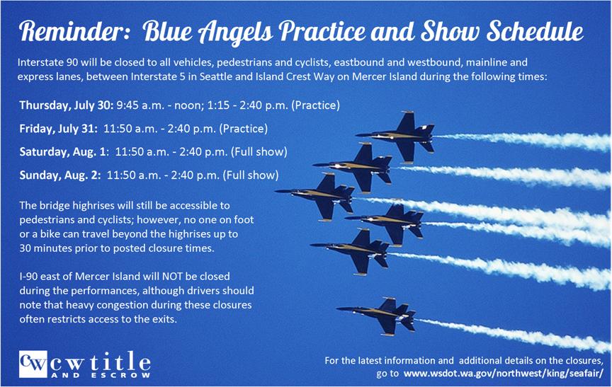 Blue Angel Reminder