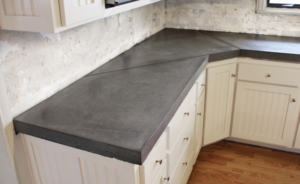 Pigments stains and dyes can create concrete counters with color and visual texture. With the right sealer a concrete counter can be well worth its cost ... & Kitchen Counter Design Options - Jackie Syvertsen