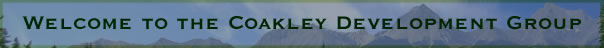 Welcome to the COakley Development Group