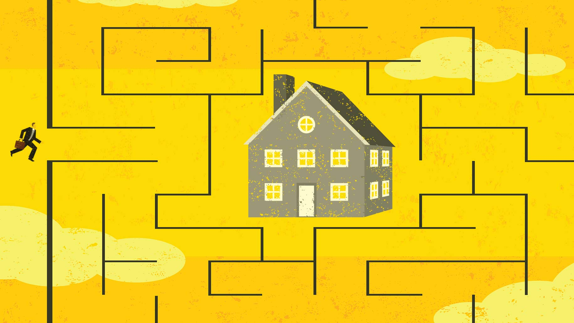 house-in-maze