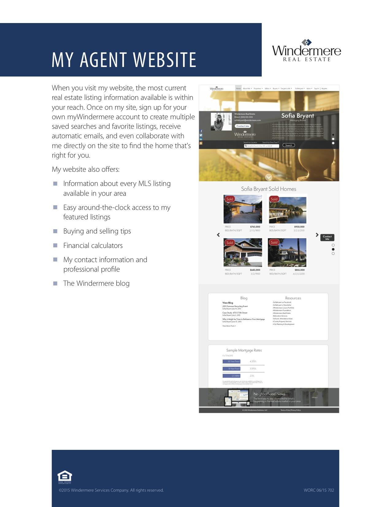 702 My Agent Website WORC