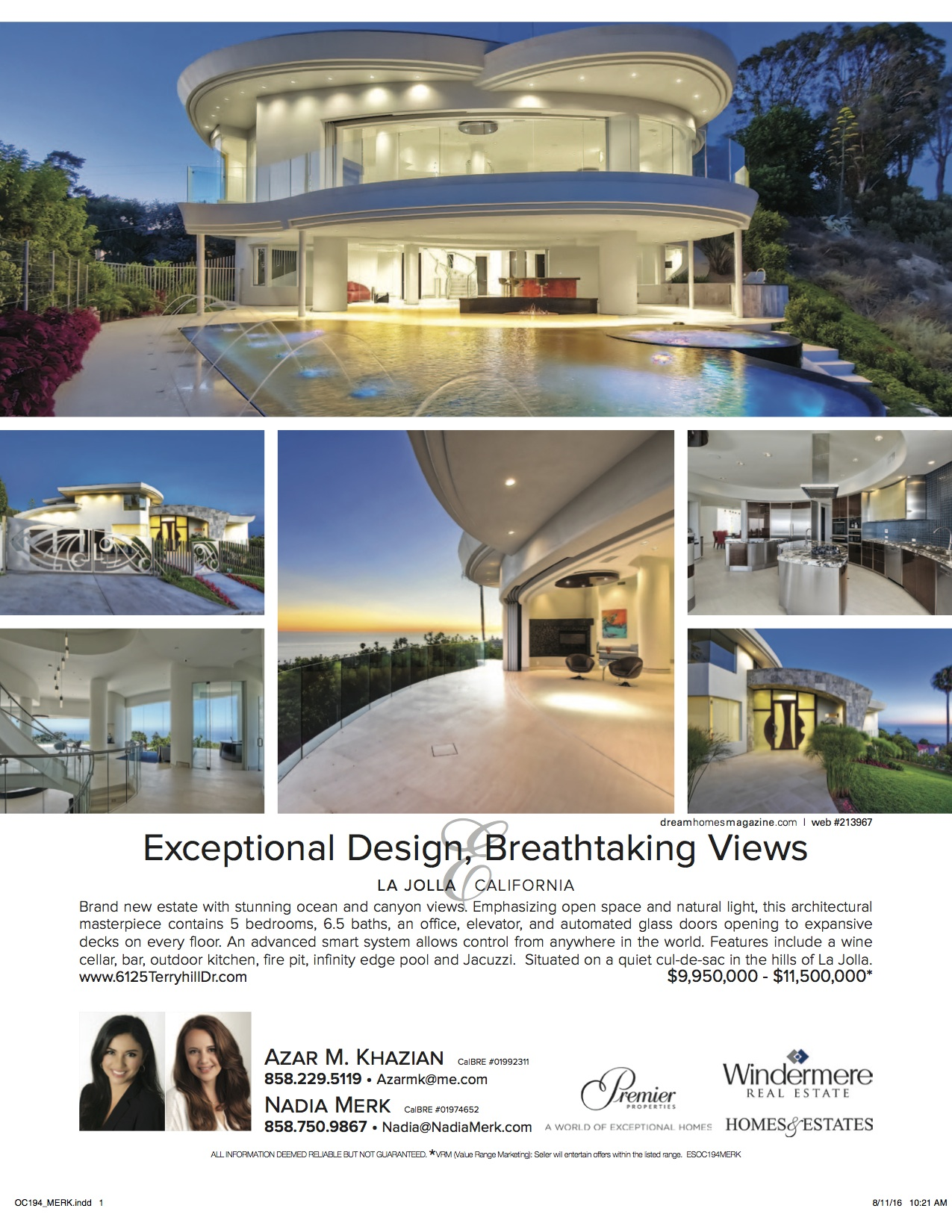 Dream Homes Magazine Nadia Merk