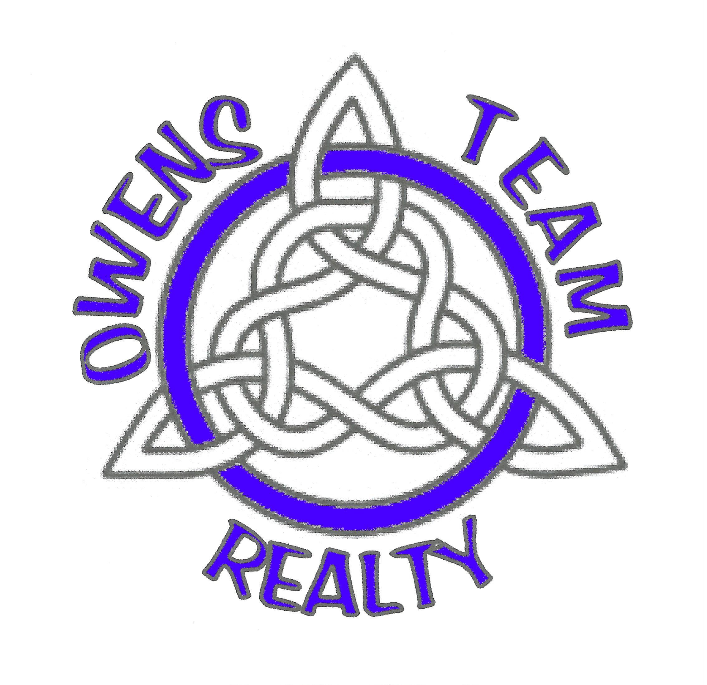 Logo Owens team Caps Blue