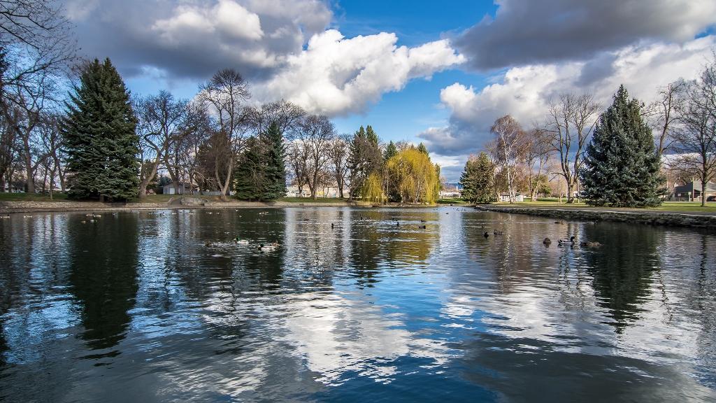 Pioneer Park Pond - Walla Walla