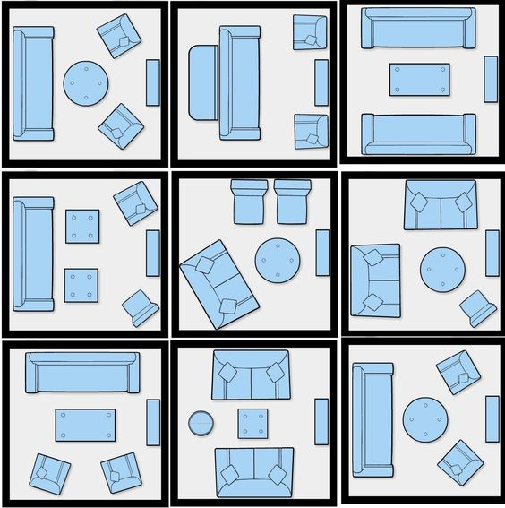 How to arrange furniture in a small space