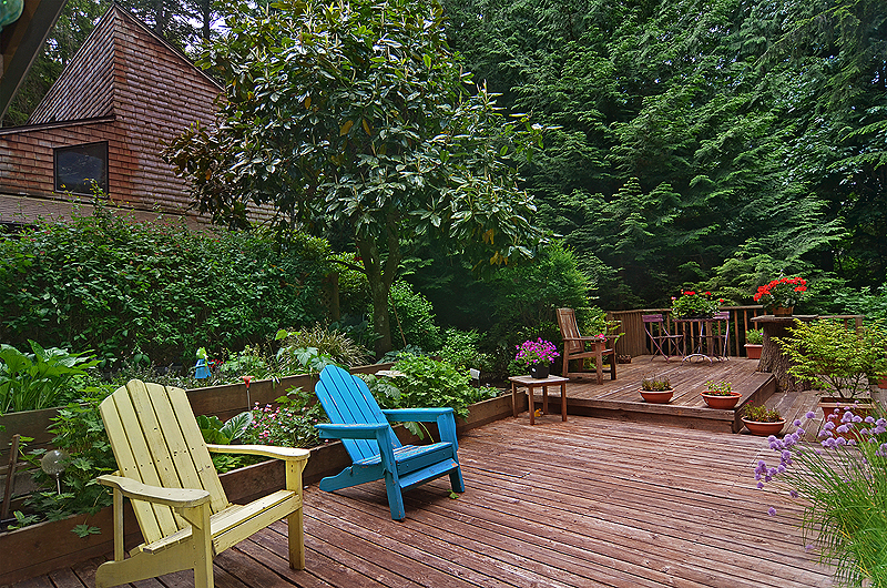 outdoor living Bainbridge Island