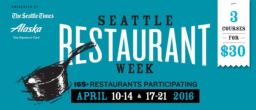 Seattle Restaurant Week 2016