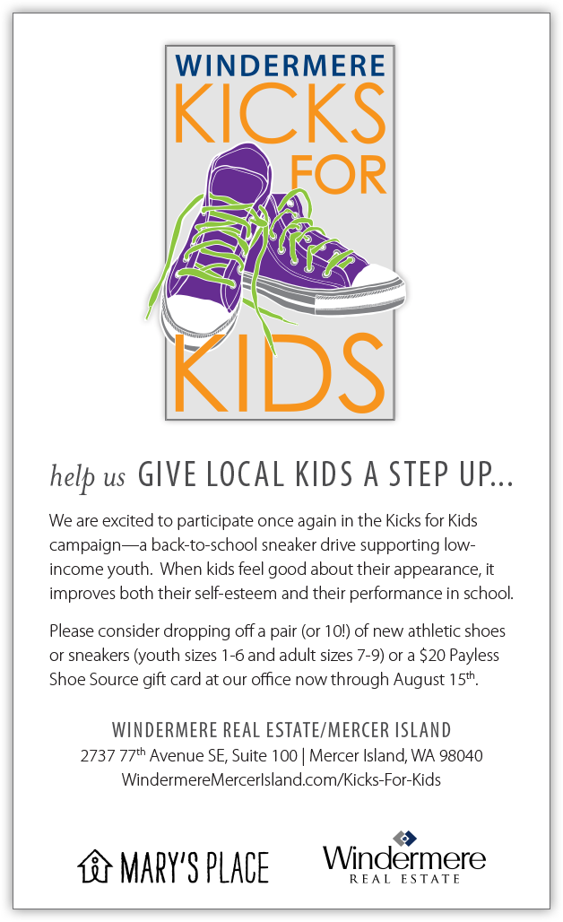 Can you help kids get a pair of shoes?  Please help!
